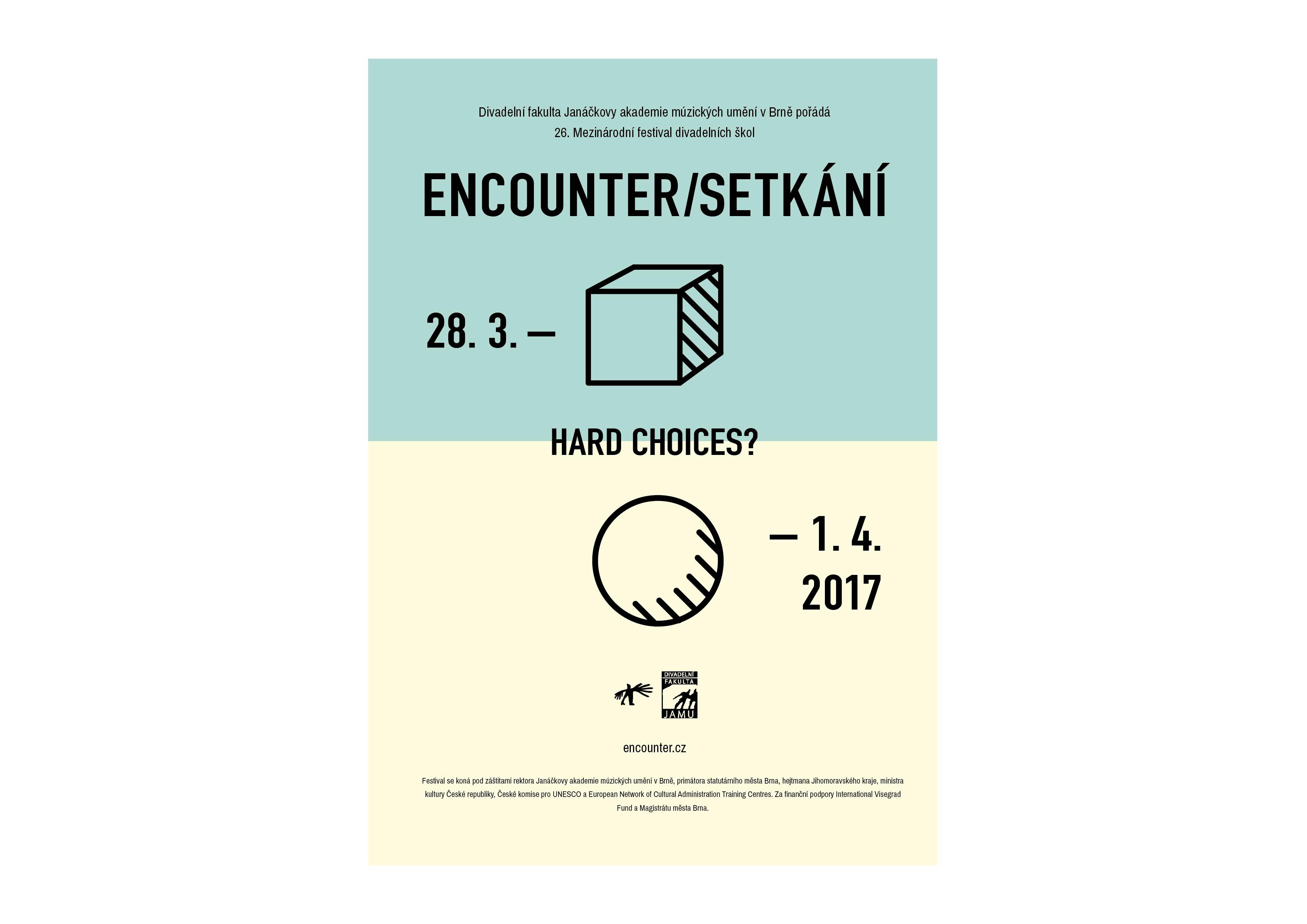 Digitální design FMK UTB - ENCOUNTER/SETKÁNÍ